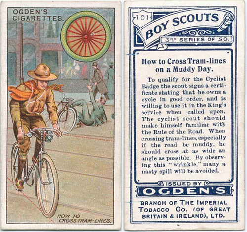 Ogden Cigarrette Cards - Scouts and Cycling