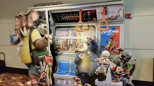 Zootopia Movie Standee