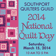 2014 National Quilt Day, Saturday, March 15, 2014