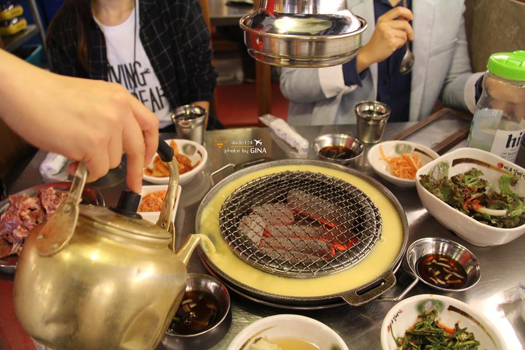2020首爾食記 新麻蒲海鷗烤肉(마포갈매기)有點令人銷魂的韓國烤肉 弘大店 @Gina環球旅行生活