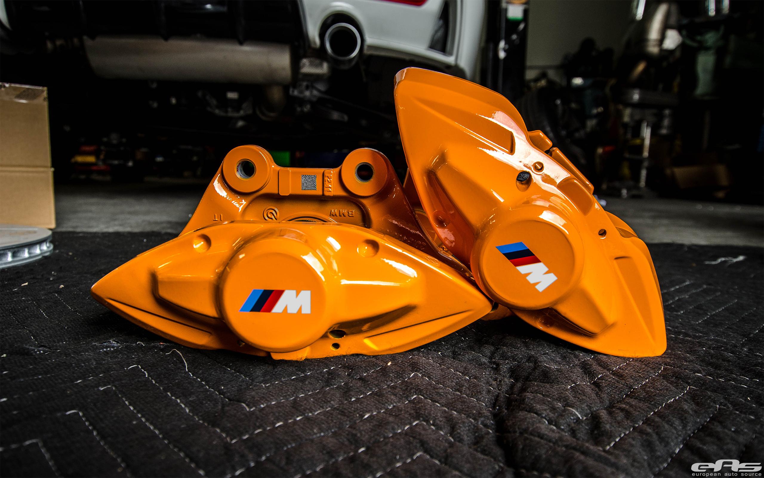 F32 428i M Performance Brake Upgrade Bmw Performance