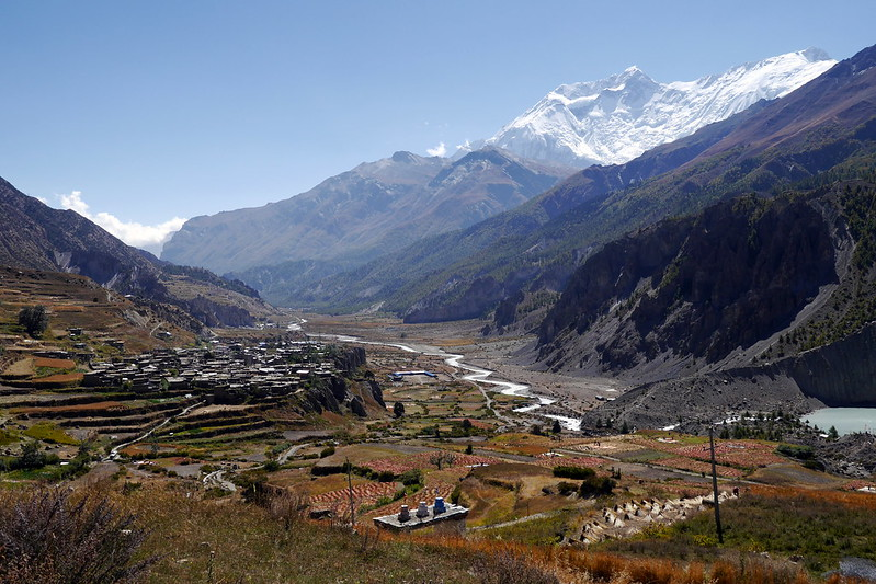 Looking back at Manang
