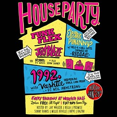 1/28 - TONITE - Joining the 1992 Party crew for the House Party @ WebsterHall NYC