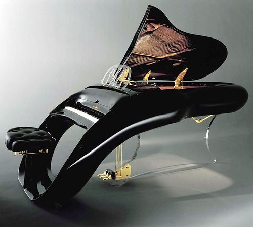 Shimmel Pegasus Grand Piano.