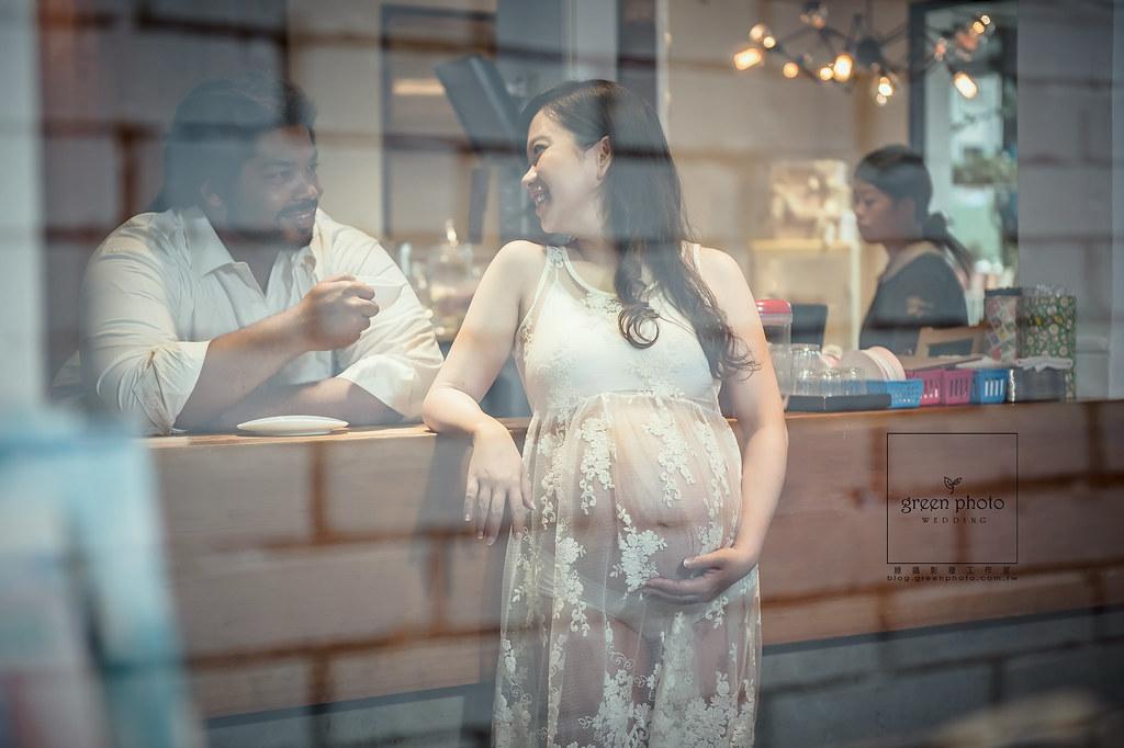 孕婦寫真 攝影 / 周上