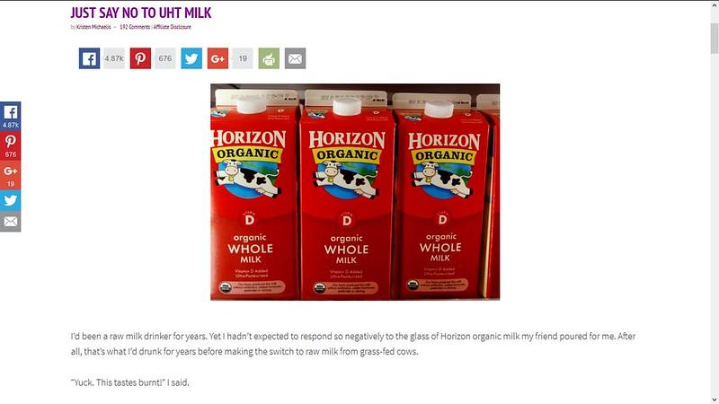 mer om uht melk