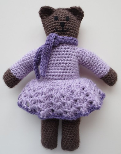 Crocheted Mother Bear Bloomers