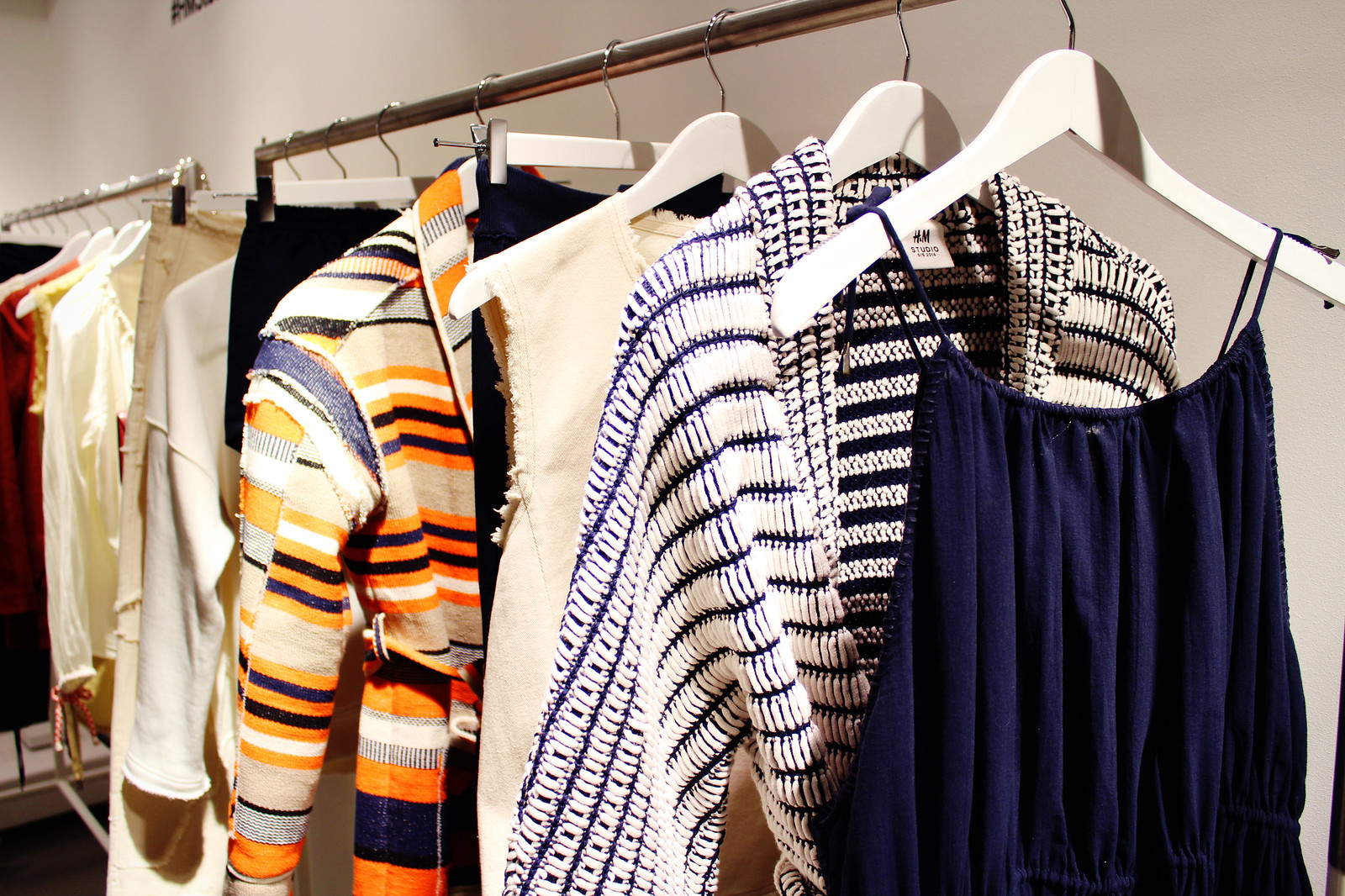 H&M Studio SS 16 collection preview knits