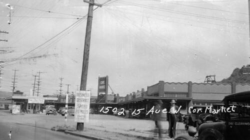 Cove Mid-City Market full profile, 1937