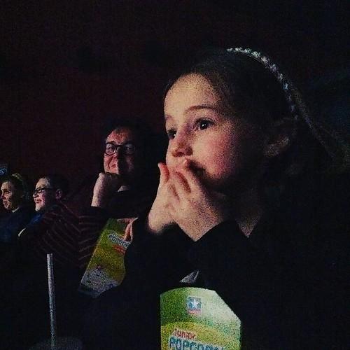 Met de jarige in de cinema. #heldenvandezee #sien90210