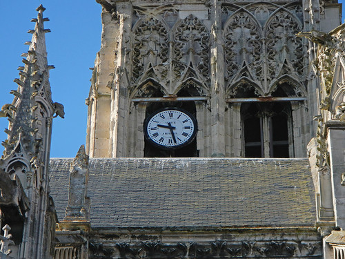 Dieppe Cathedral Clock (France)