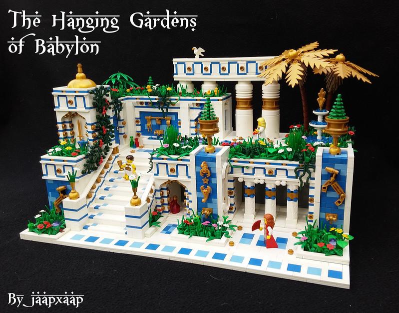 Giardini pensili di Babilonia - The Hanging Gardens of Babylon