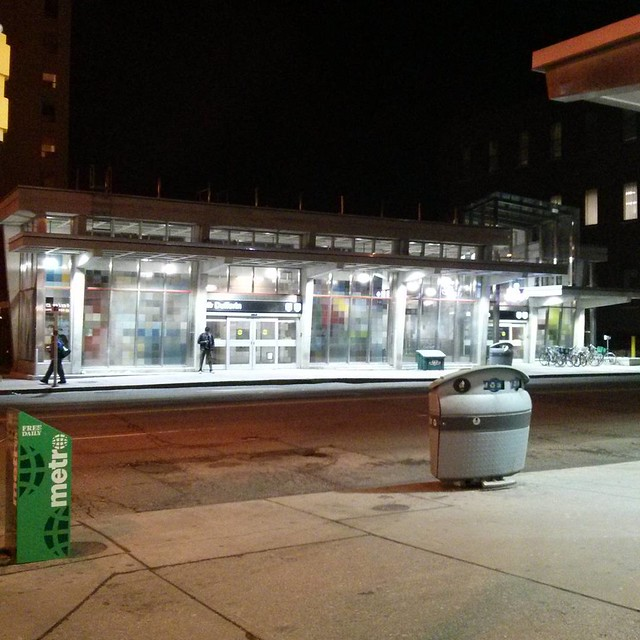 Dufferin Station at night #toronto #ttc #subway #bloorcourt #dufferinstreet #dufferin #bloorstreetwest