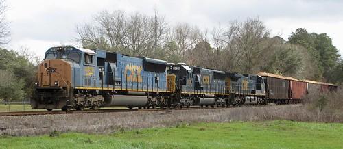 georgia railroads csx emdsd70mac geac44cw emdsd502 csx4819 csx233 csx2476 climaxga decaturcountyga