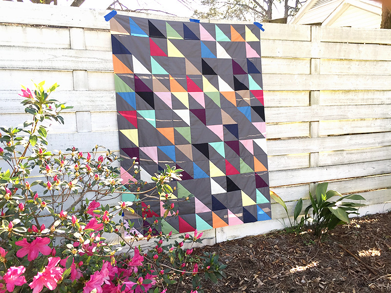 Blithe Quilt Top