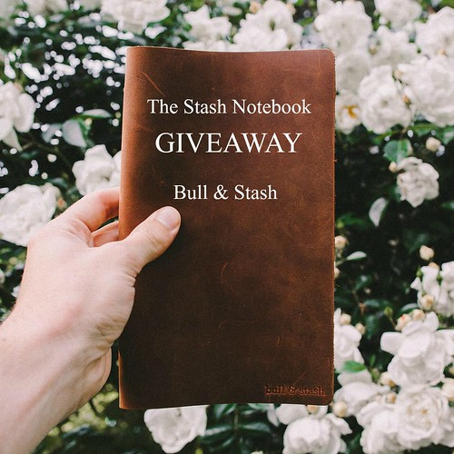 The Stash Leather Notebook from Bull & Stash
