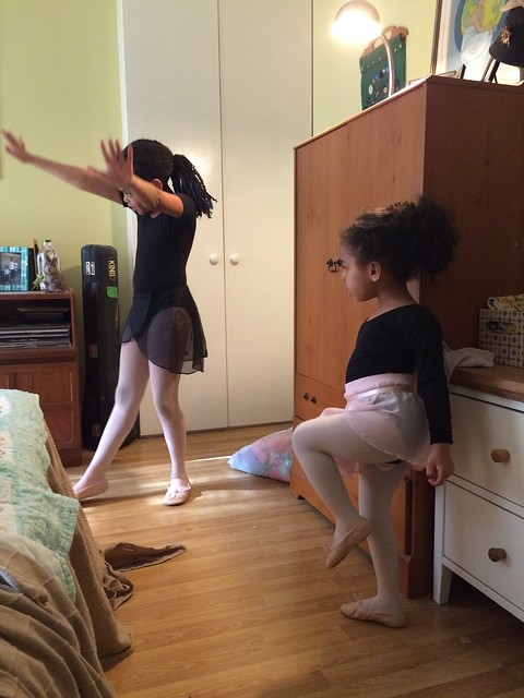ballet, first thing in the morning