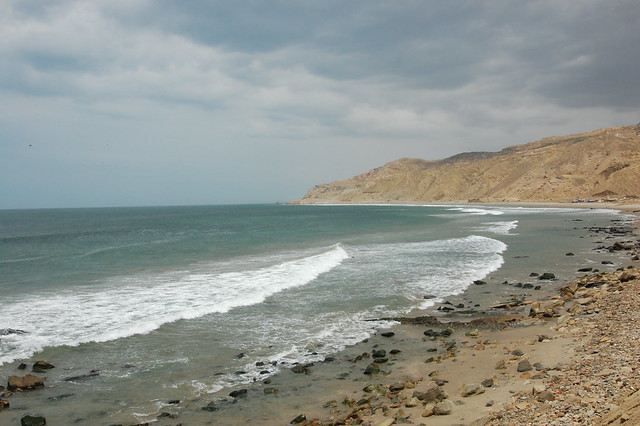 Ocean Views from Cabo Blanco, Piura, Peru