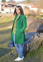 green, verde, cappotto verde, wildflower girl (7)