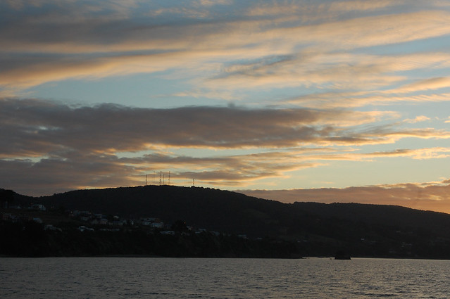 Sunset in Ancud, Chiloé, Chile