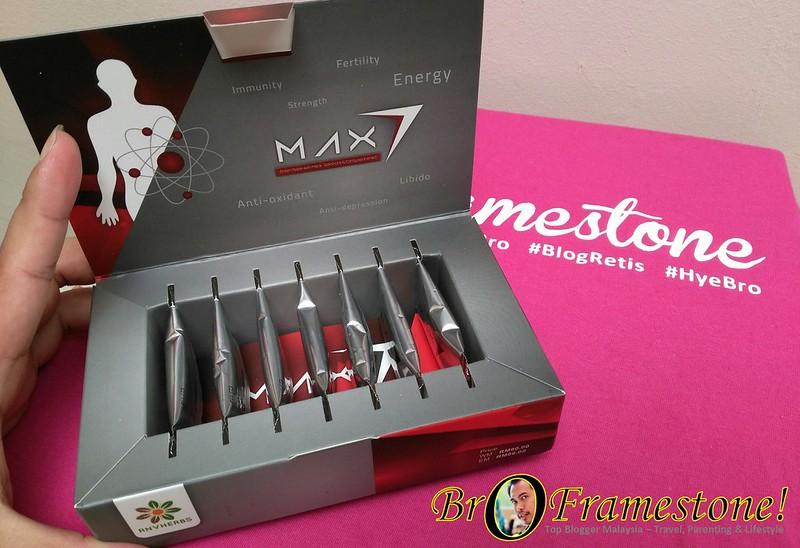 Review Max7 - Buat Lelaki Lebih Bertenaga