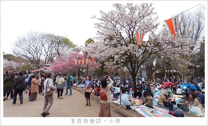 【日本東京】上野恩賜公園賞櫻 @魚樂分享誌