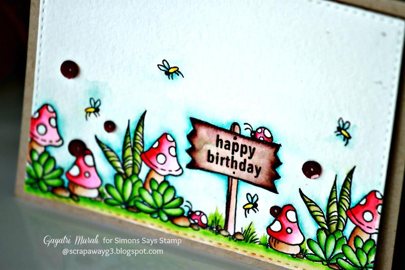 Happy Birthday closeup
