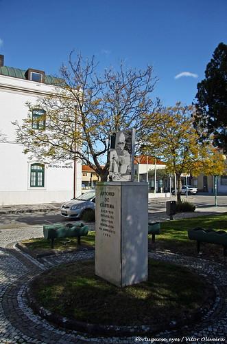 Monumento a António de Cértima - Oliveira do Bairro - Portugal