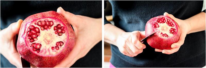 äta granatäpple