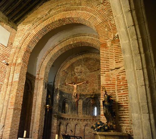 Aldeaseca de la Frontera. Iglesia de la Asunción. Interior. Ábside