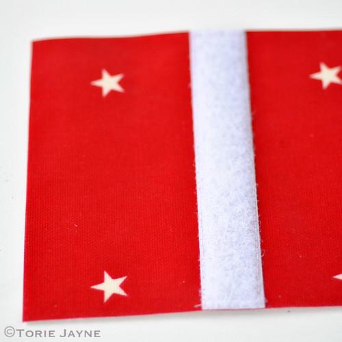 Boys Handmade folded Zip Wallet tutorial 13
