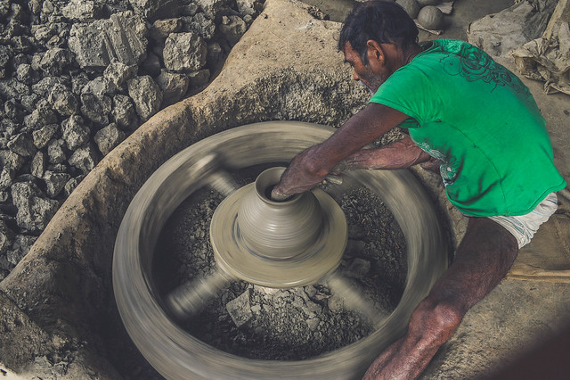 Potter of Rural Bangladesh