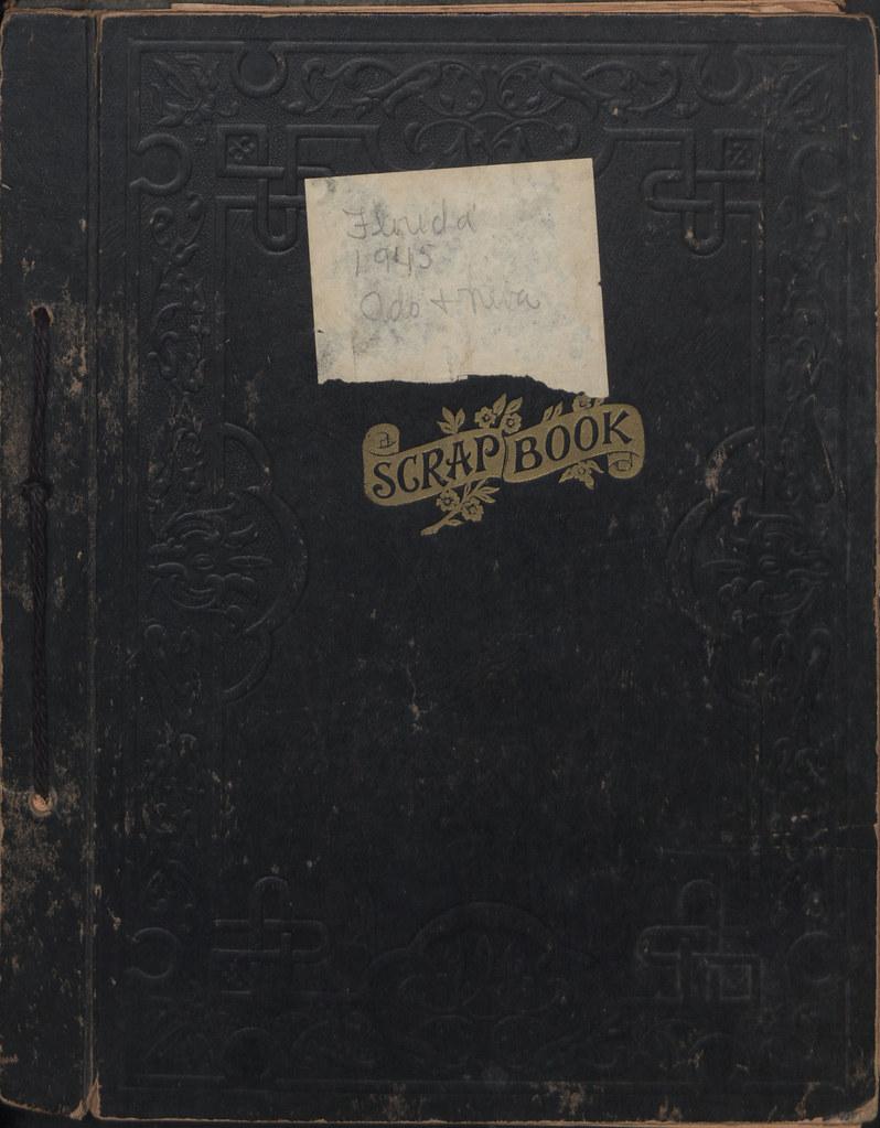 Maude Liersch Scrapbook Cover