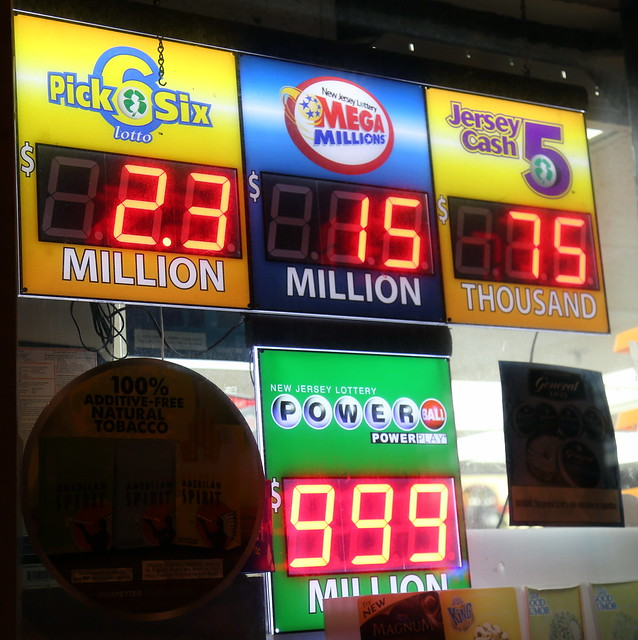 Photo of the Day Project 2016, Jan. 10: Powerball now worth more than $1 BILLION