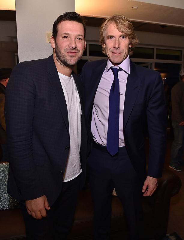 Tony Romo and Michael Bay