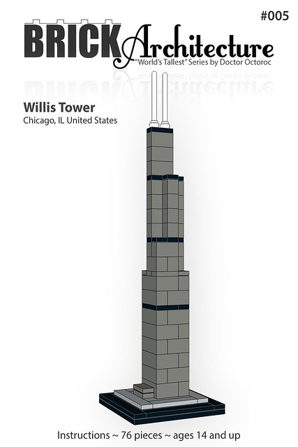 Lego Architecture Worlds Tallest Custom Series Special Lego