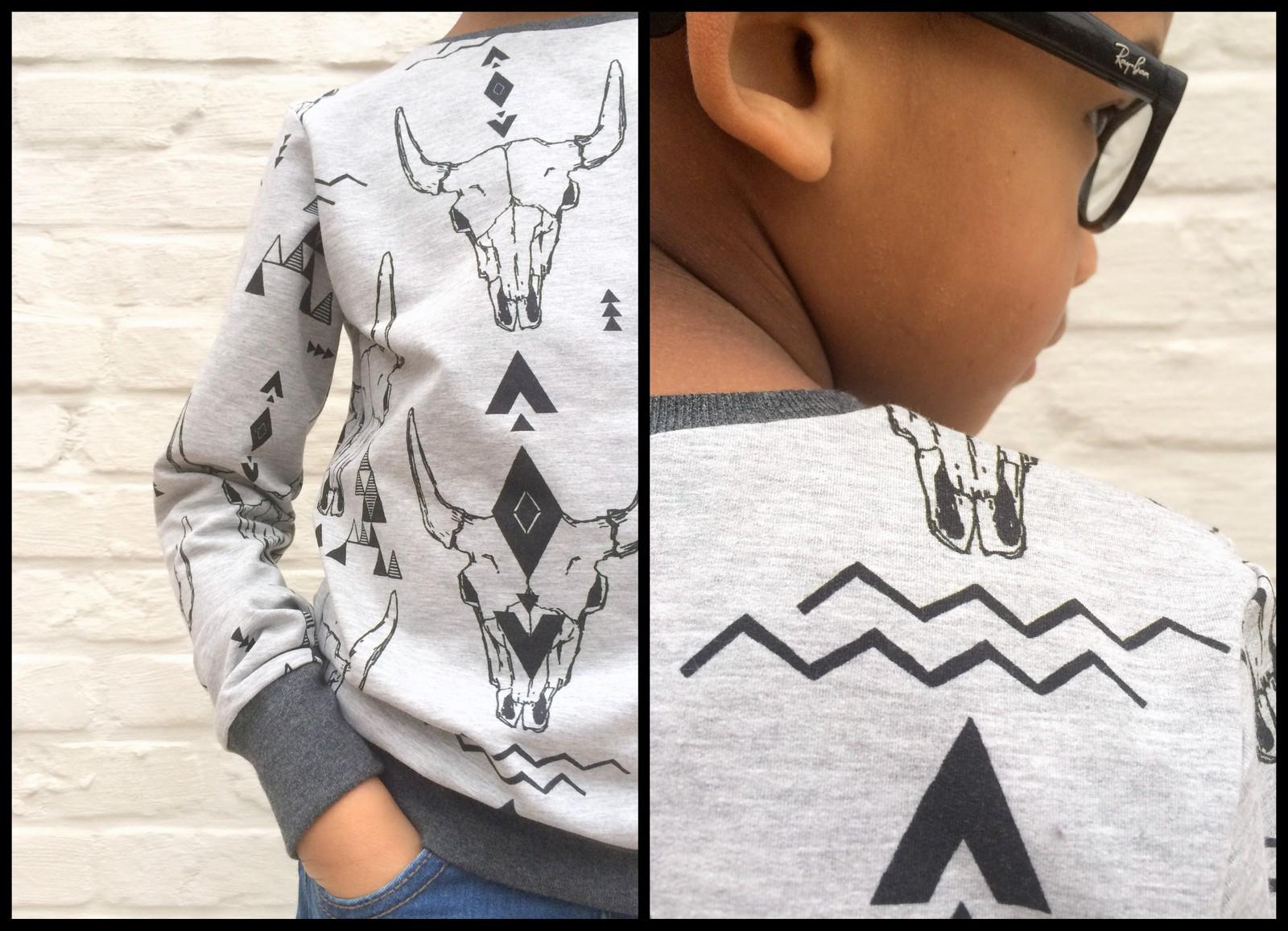 skulls sweater (collage2)