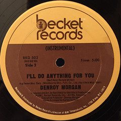 DNEROY MORGAN:I'LL DO ANYTHING FOR YOU(LABEL SIDE-B)