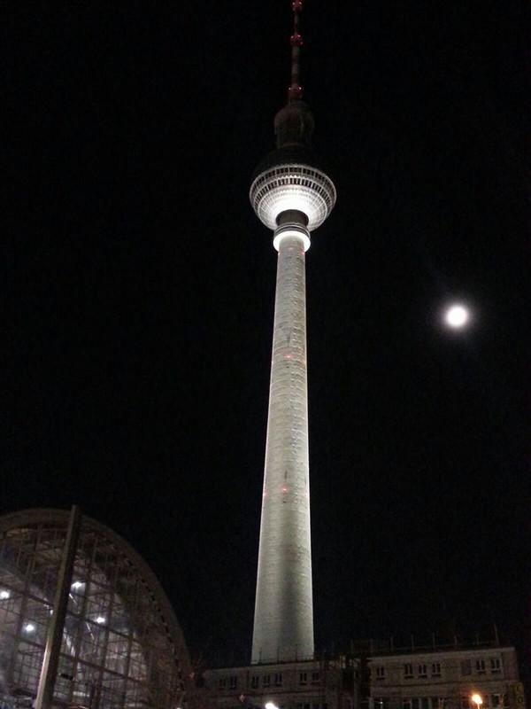 Berlin, Torre de TV, Alexander Platz