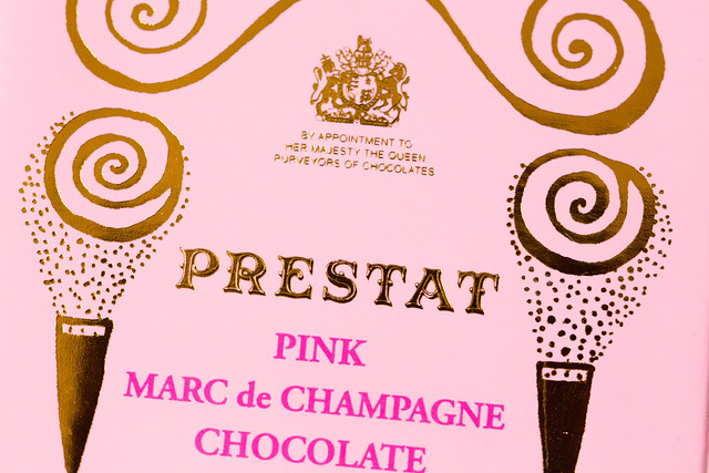 PRESTAT Pink Marc de Champagne Truffle プレスタ チョコレート