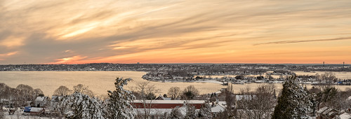 sunset panorama snow cold ice water clouds evening fuji pano rhodeisland portsmouth nik strait goldenhour lightroom tiverton redglow portsmouthri sakonnetriver mounthopebridge fortbarton xt1 colorefexpro tivertonri photoshopcc