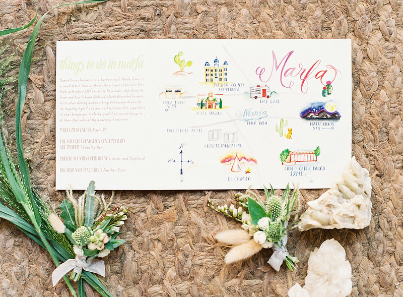 pretty wedding stationery #weddingmap