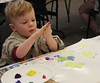 Georgetown Craft Adventures - Finger Painting