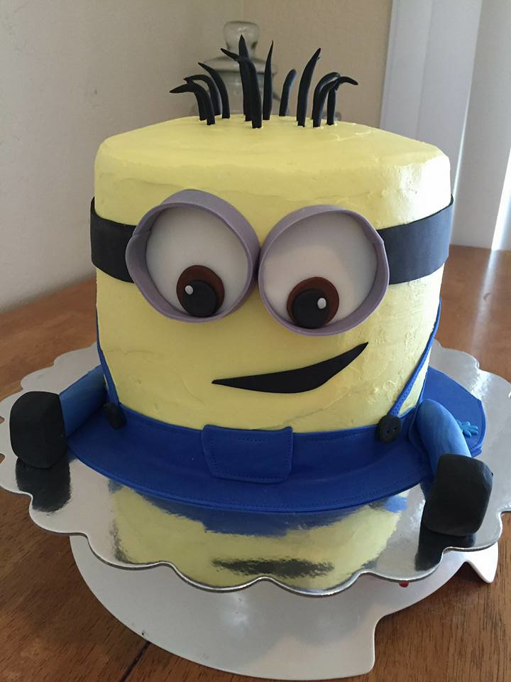 Minion Cake By Toetu Norther Utah Birthdaycakes4free