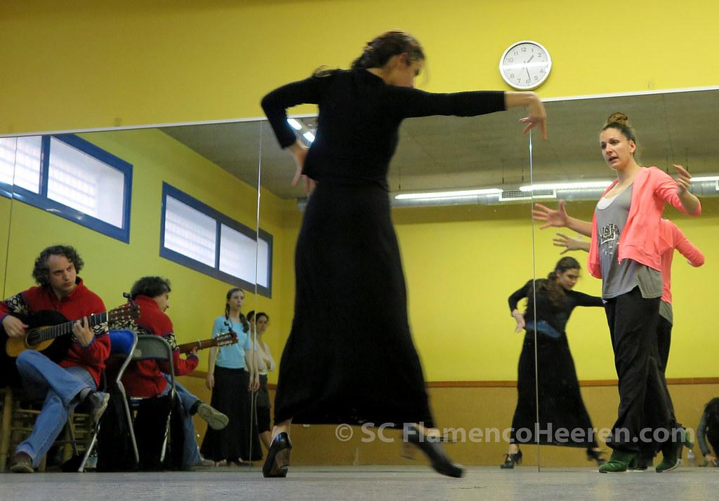 Ensayos de 'Eclosión', espectáculo de la Fundación Cristina Heeren dirigido por Luisa Palicio