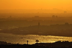 Bosphorus Istanbul Beyond Sunset