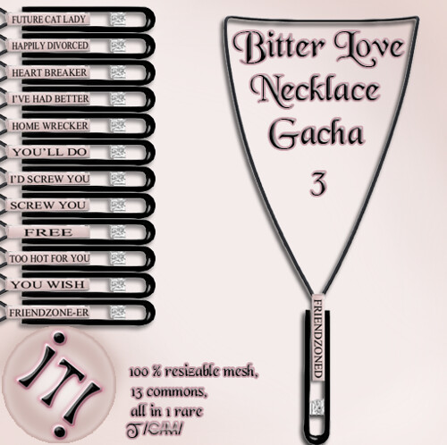!IT! - Bitter Love Necklace 3 Image