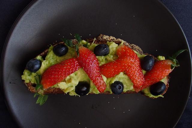 avocado toast, with Woodlands Sourdough. bread subscription!