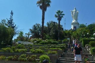 Santiago - Cerro San Cristobal Virgen