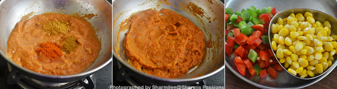 Hot to make Kadai Mushroom - Step4